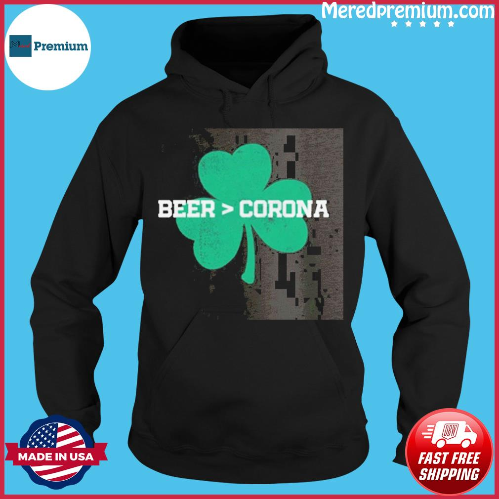 Beer Corona Saint Patrick's Day T-Shirt Hoodie