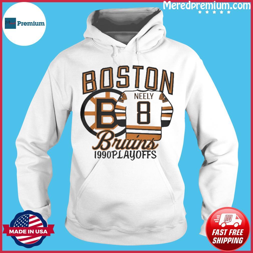 Boston Bruins 1990s Playoffs Neely 8 Shirt Hoodie
