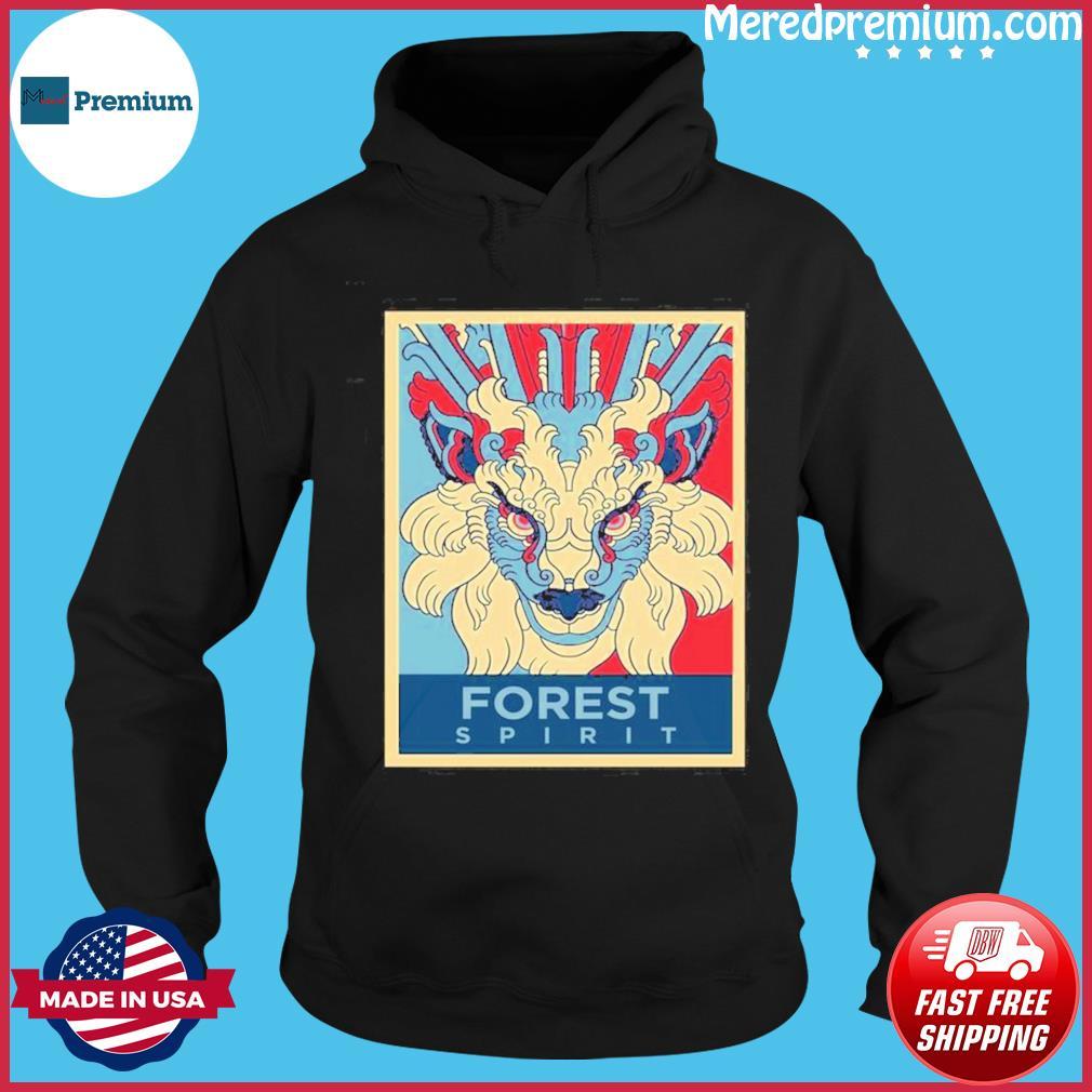 Forest Spirit Mononoke Hime Classic Shirt Hoodie