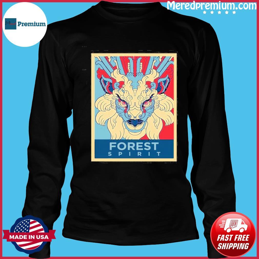 Forest Spirit Mononoke Hime Classic Shirt Long Sleeve