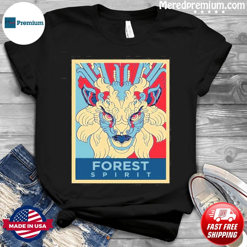 Forest Spirit Mononoke Hime Classic Shirt