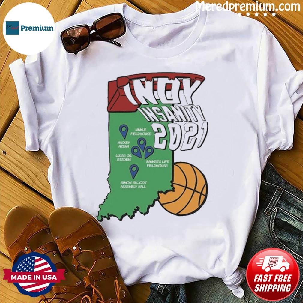 Indyinsanity 2021 Basketball T-shirt