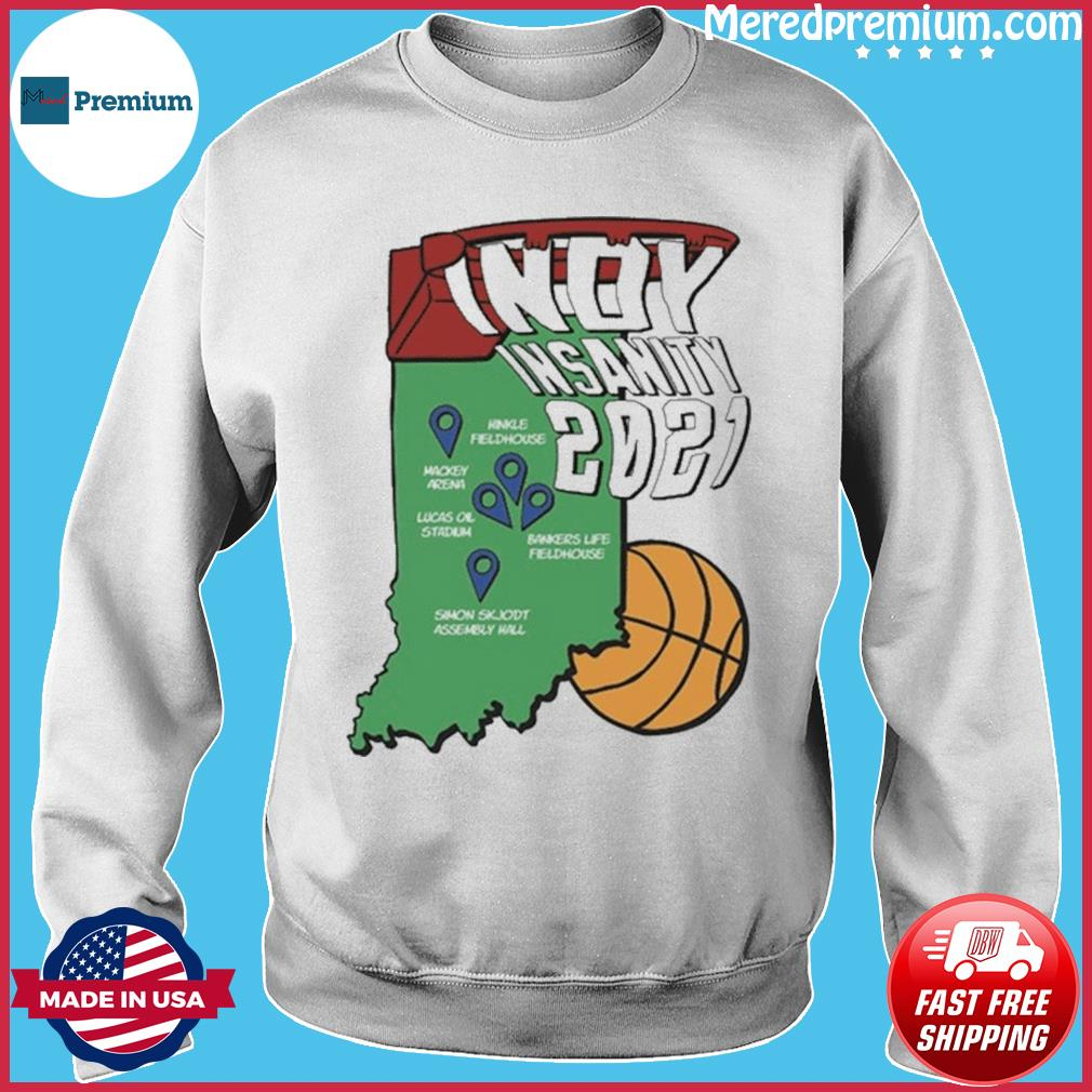 Indyinsanity 2021 Basketball T-s Sweater