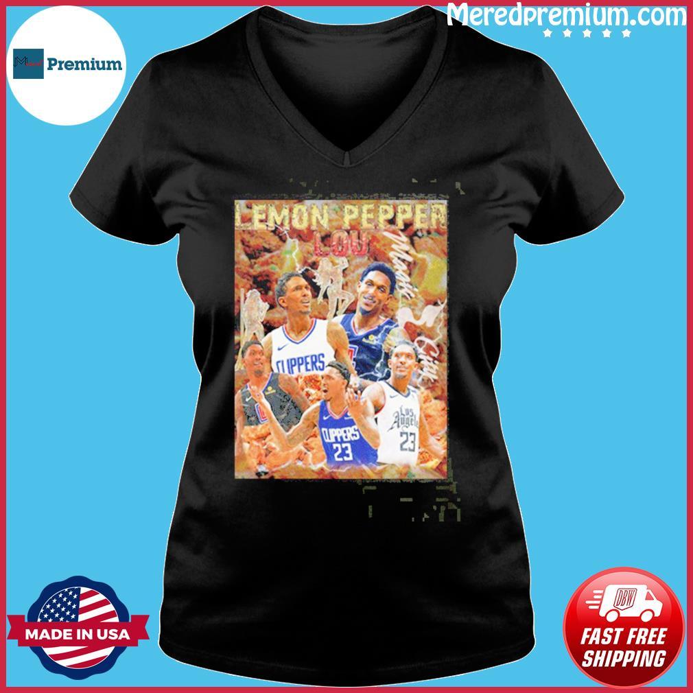 Lemon Pepper Lou Los Angeles Clippers Shirt Ladies V-neck