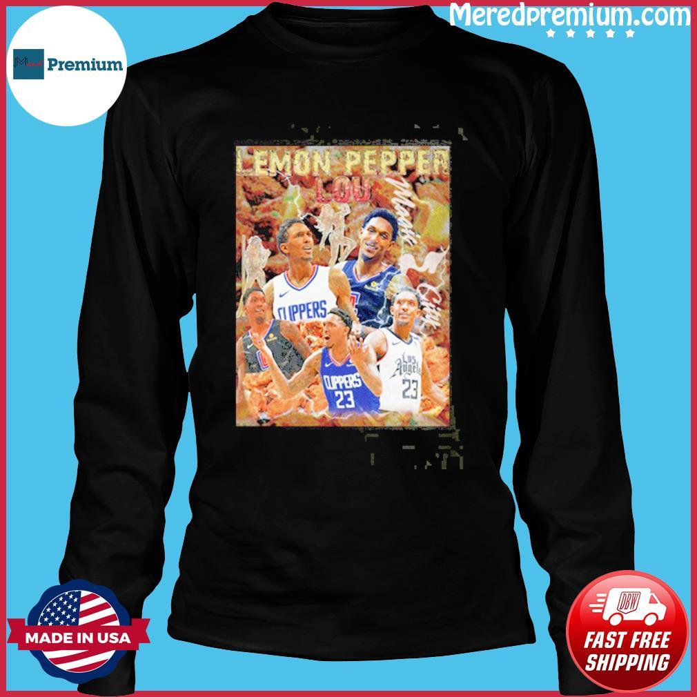 Lemon Pepper Lou Los Angeles Clippers Shirt Long Sleeve