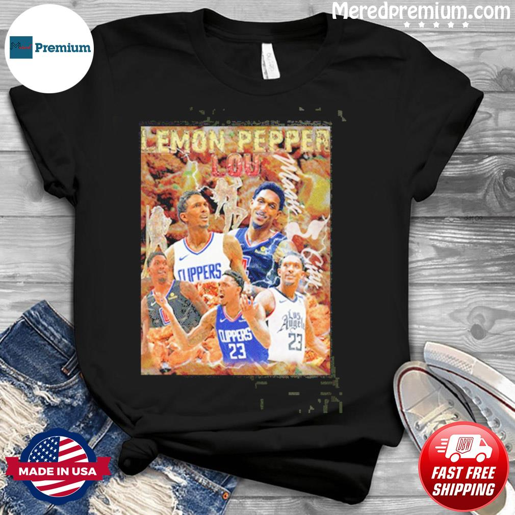 Lemon Pepper Lou Los Angeles Clippers Shirt