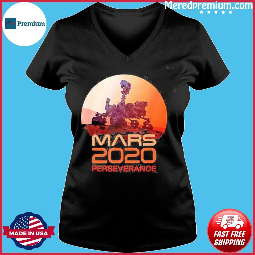 Mars Perseverance Rover Mission 2020 Shirt Ladies V-neck