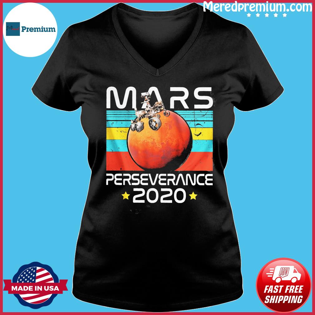 NASA The Mars Perseverance 2020 Vintage Shirt Ladies V-neck