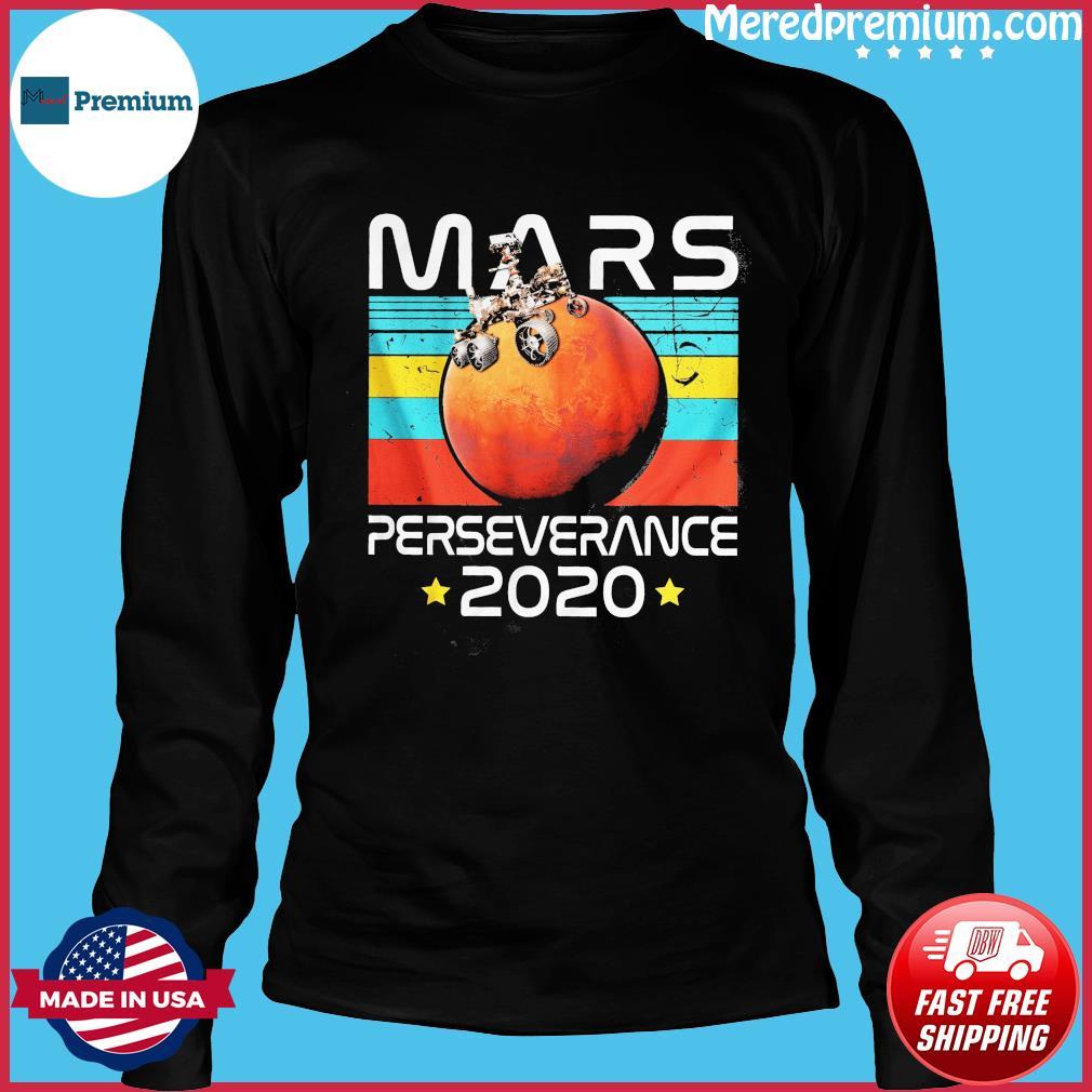 NASA The Mars Perseverance 2020 Vintage Shirt Long Sleeve