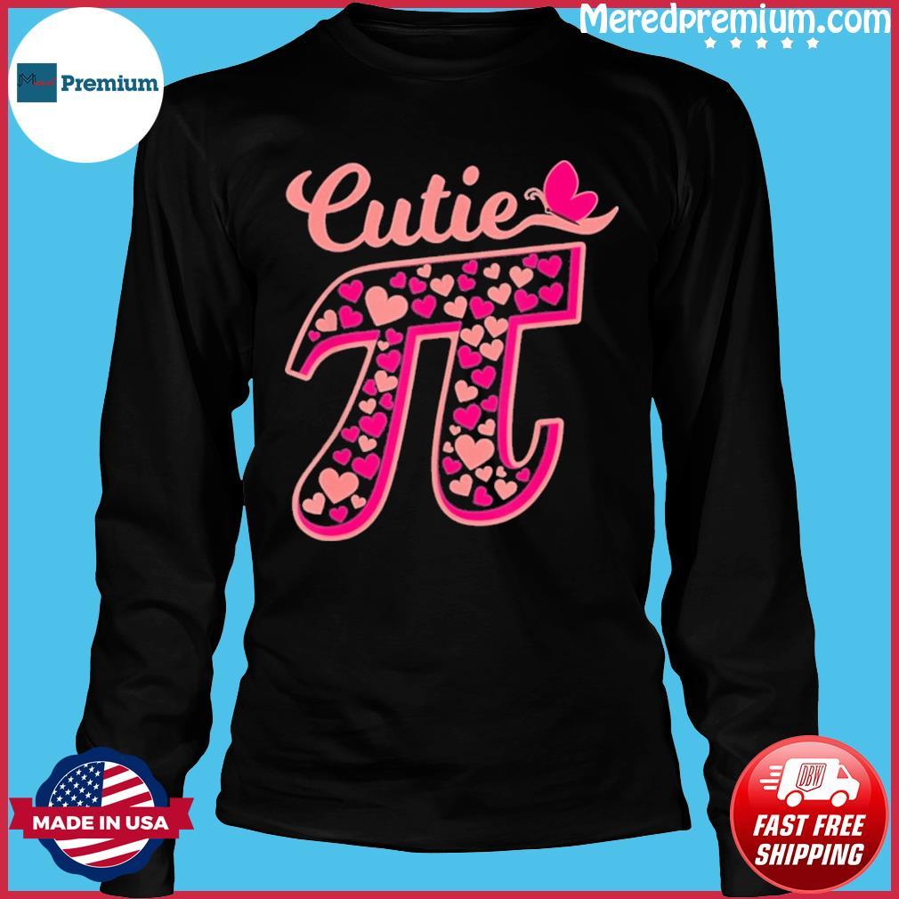 Nerd Geek Pie 3.14 Cutie Pi Shirt Long Sleeve