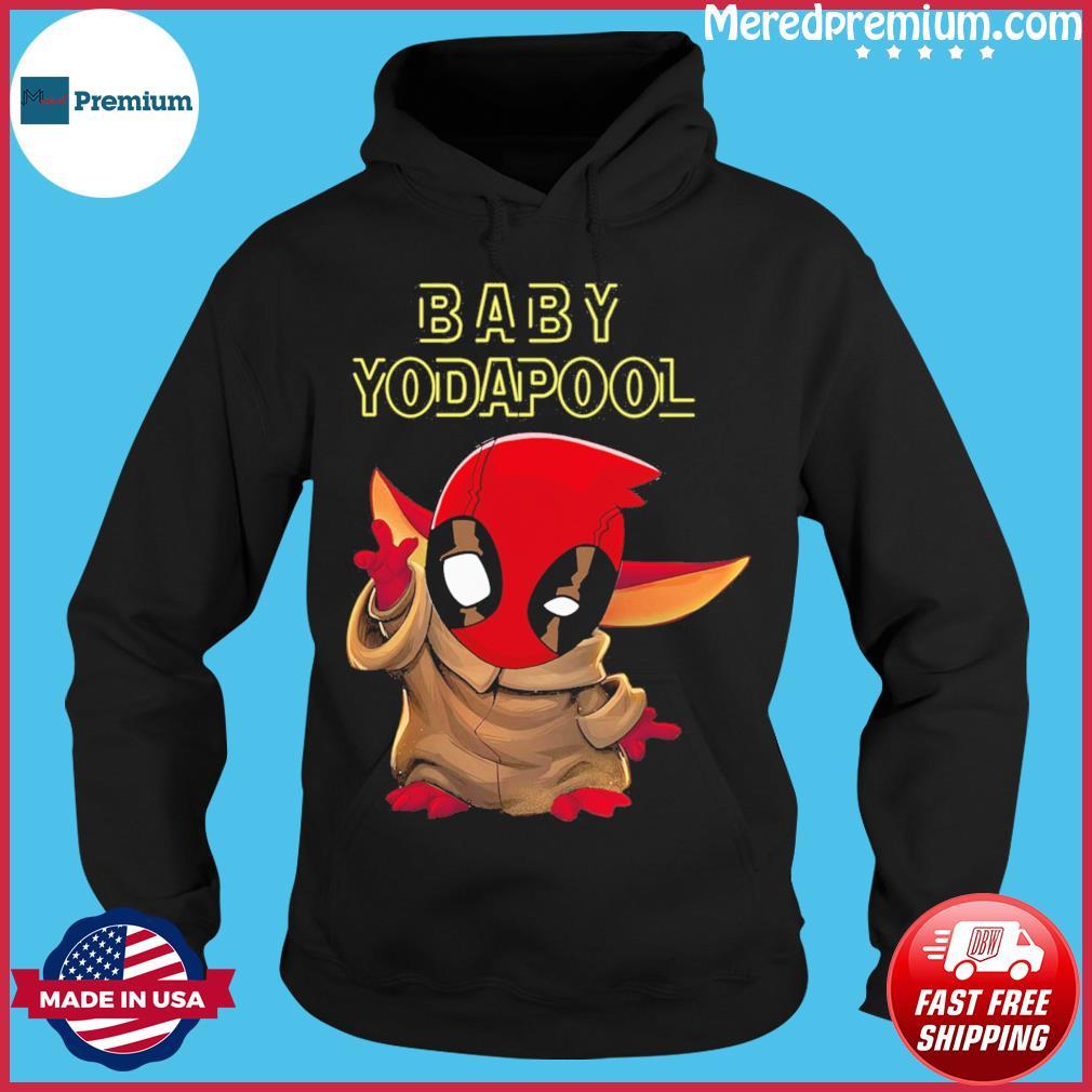 Official Deadpool Star Wars Baby Yodapool Shirt Hoodie