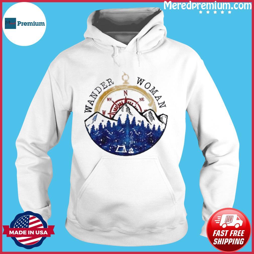 Oficial Wander Woman Hiking Camping Lover Shirt Hoodie