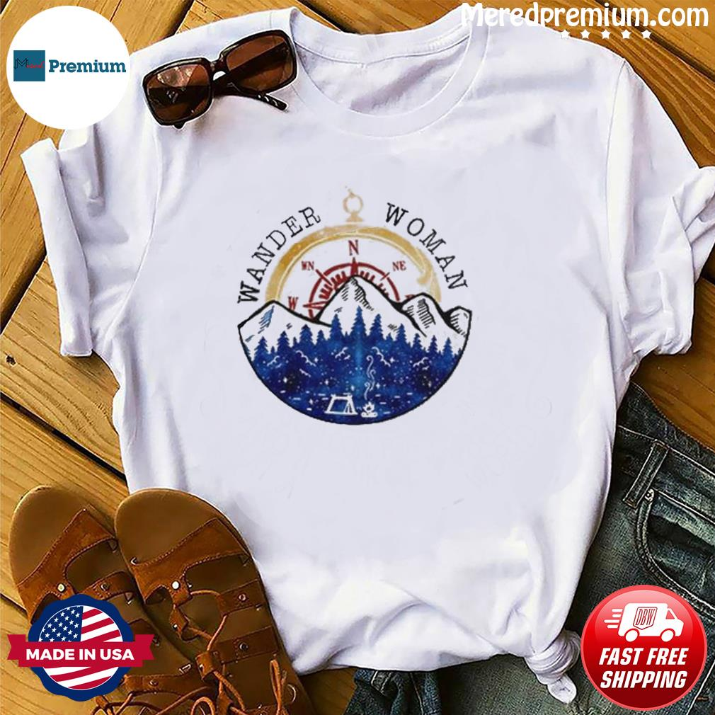 Oficial Wander Woman Hiking Camping Lover Shirt
