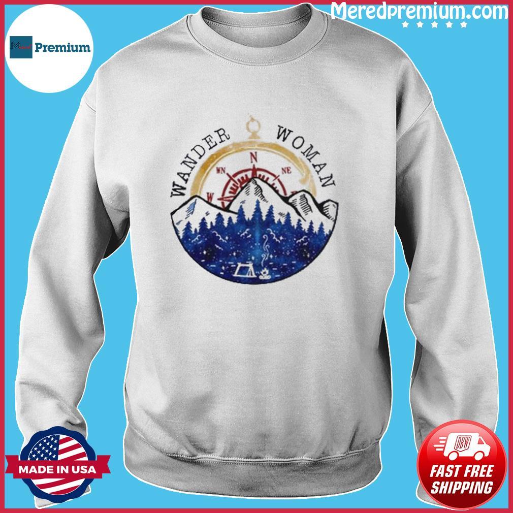 Oficial Wander Woman Hiking Camping Lover Shirt Sweater