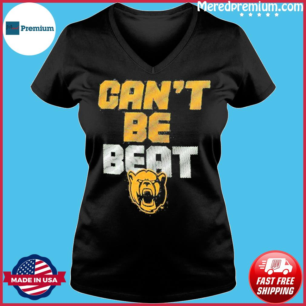 Baylor Bears Can't Be Beat Shirt Ladies V-neck