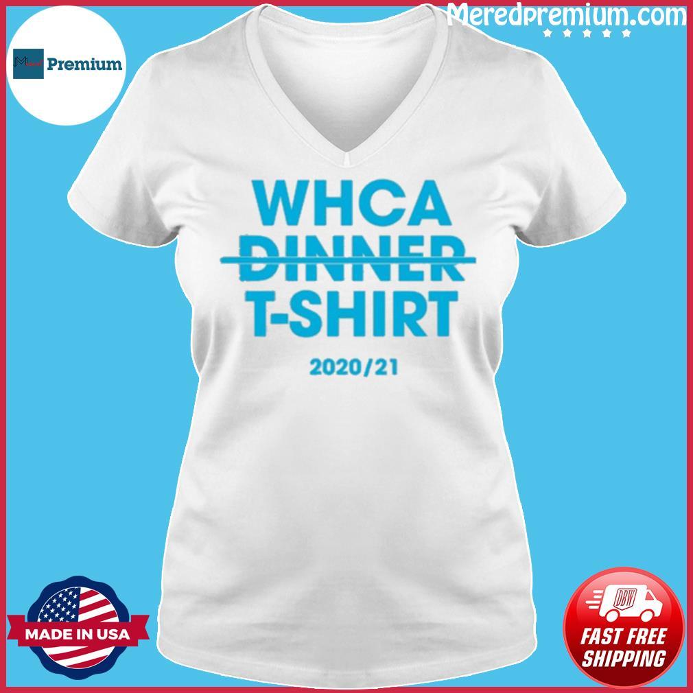Official WHCA Dinner 2020-21 Shirt Ladies V-neck