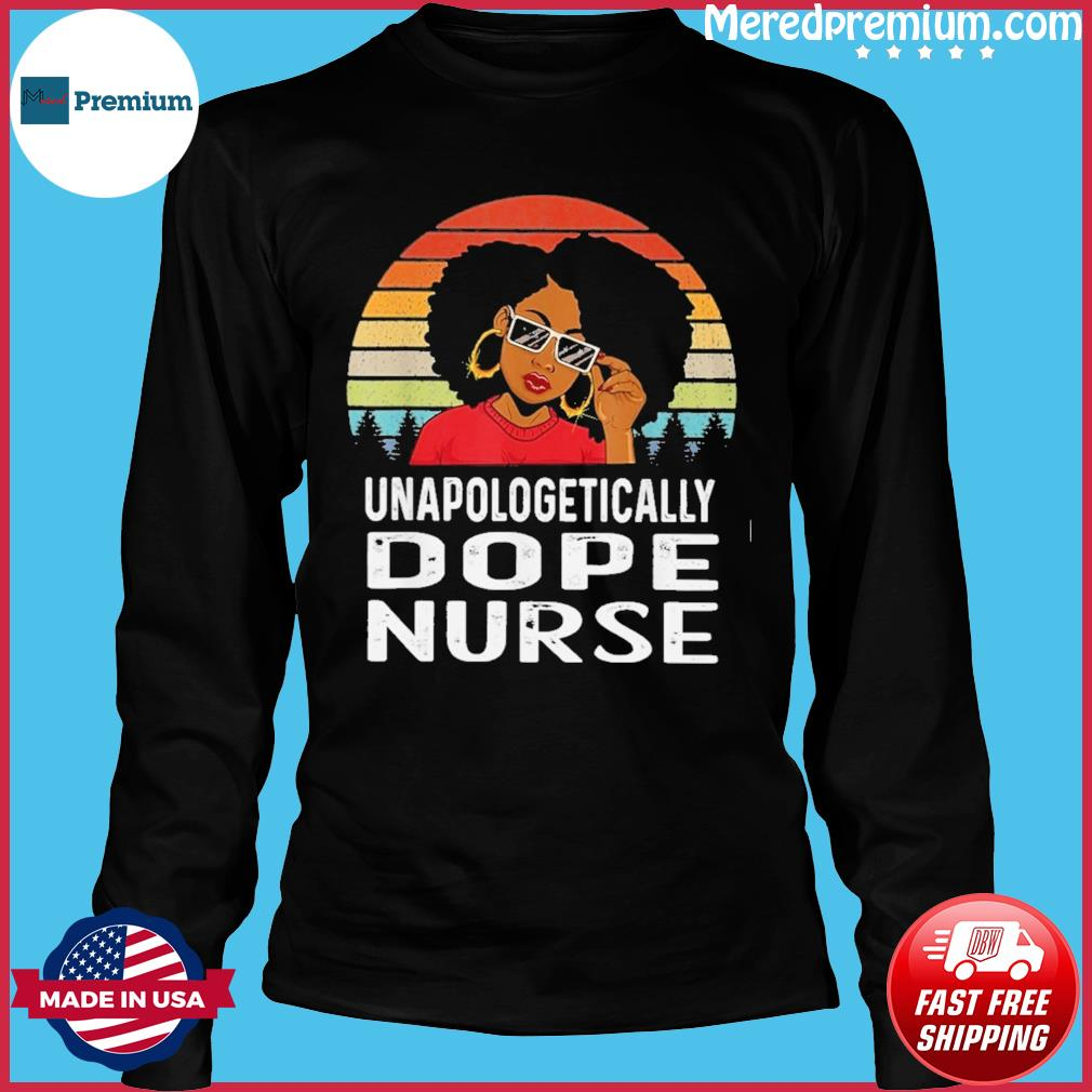 Black Girl Unapologetically dope Vintage s Long Sleeve