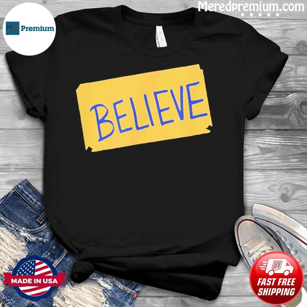 Funny soccer believe faith coach richmond lasso believe Shirt