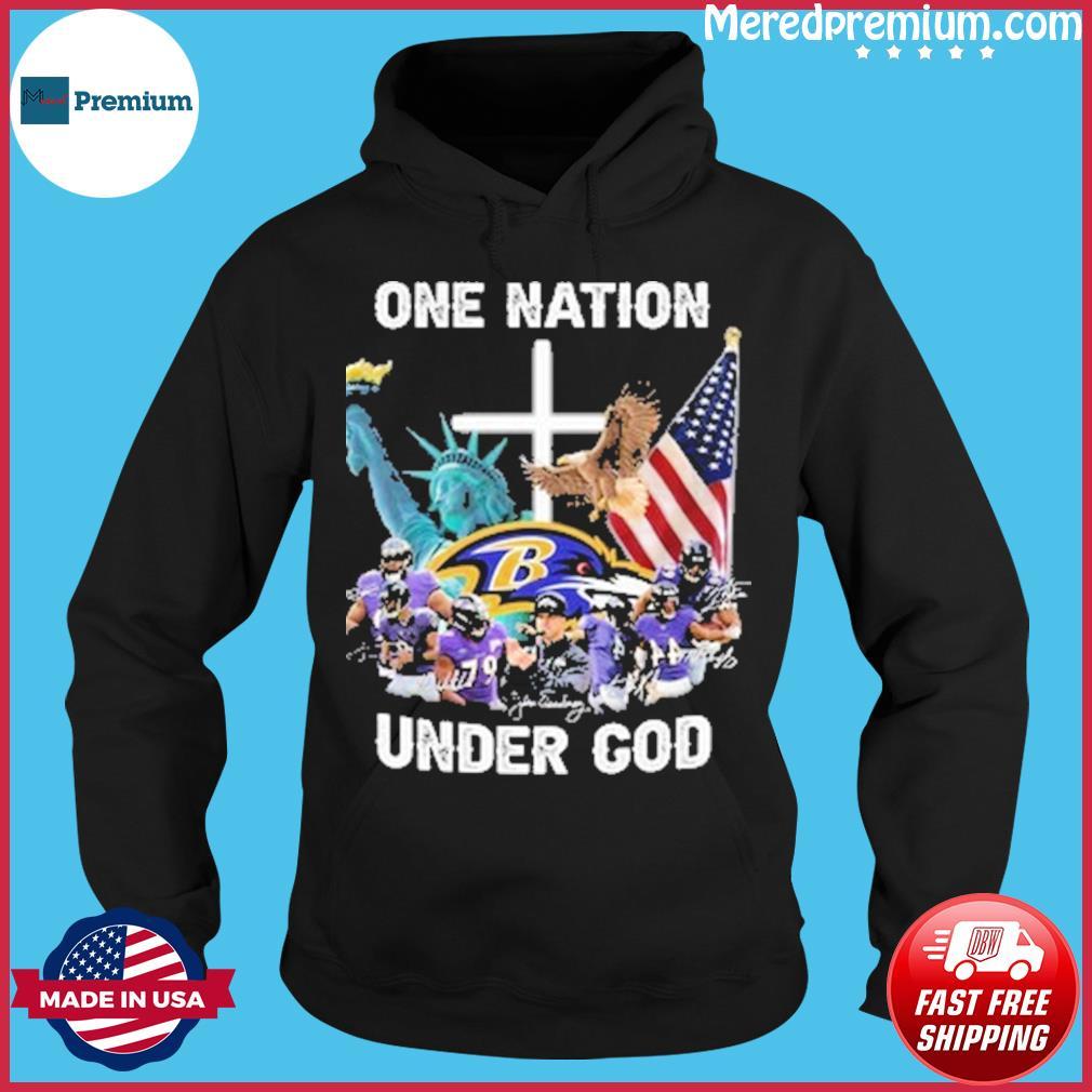 Nfl baltimore ravens teams one nation under god s Hoodie