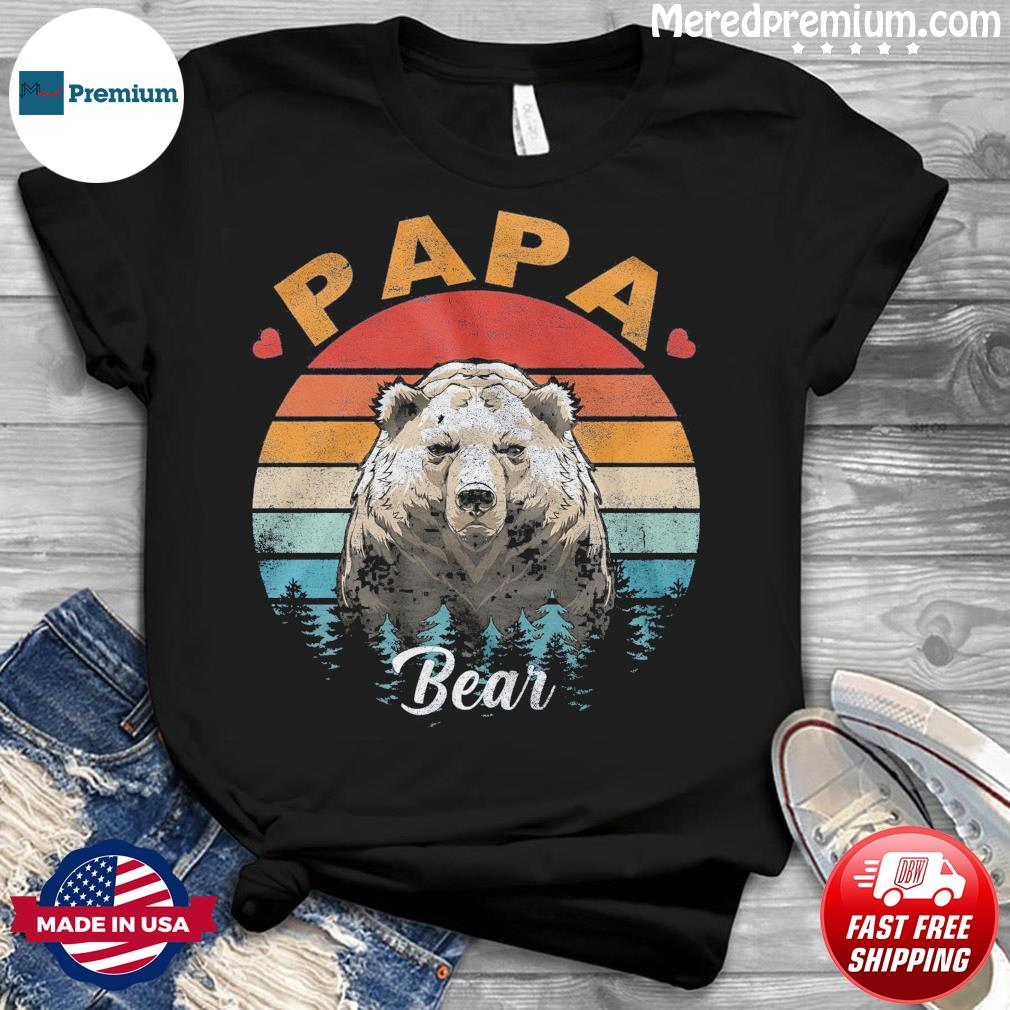 Official Papa Bear Vintage - Happy Father's Day 2021 Shirt
