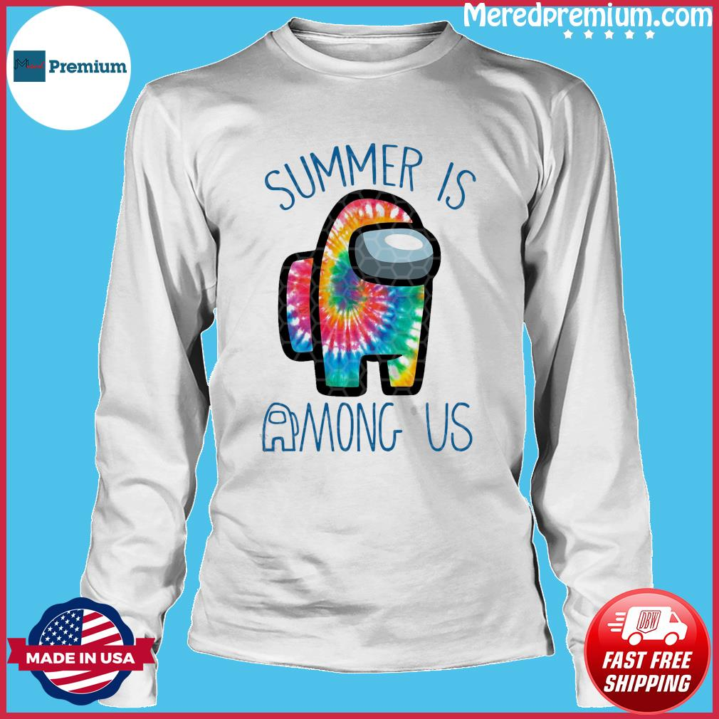 Official Summer Is Among Us - Among Us Impostor Art Color Shirt Long Sleeve