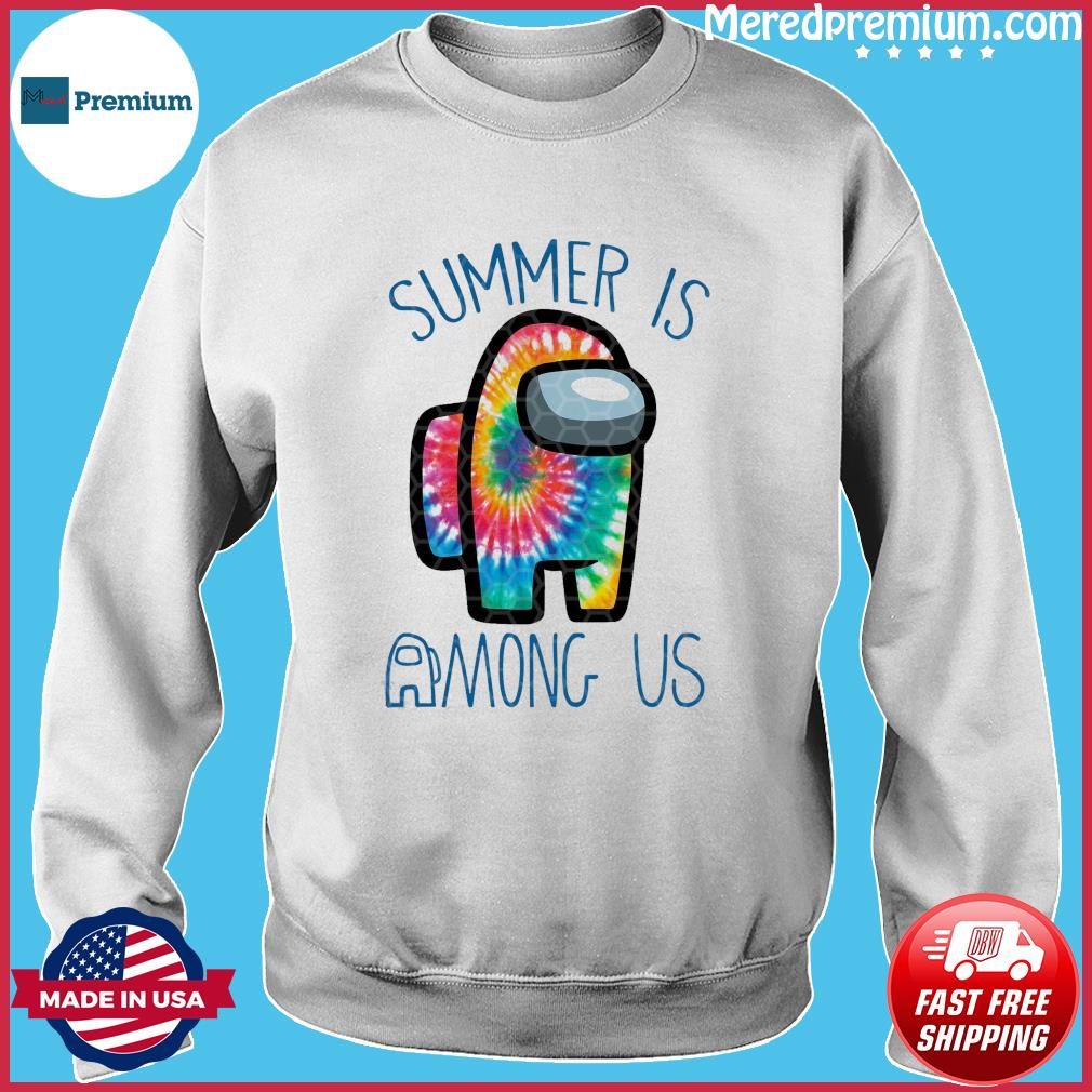 Official Summer Is Among Us - Among Us Impostor Art Color Shirt Sweater