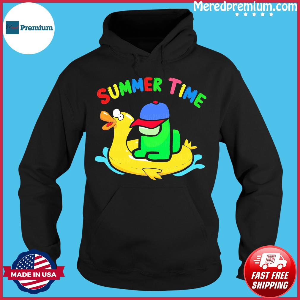 Official Summer Time With Among Us 2021 Shirt Hoodie