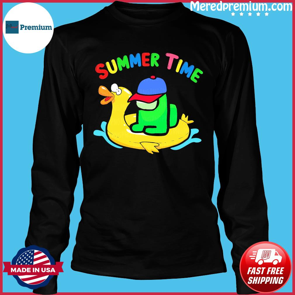 Official Summer Time With Among Us 2021 Shirt Long Sleeve