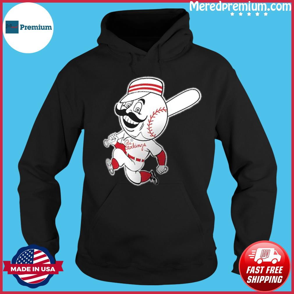 Cincinnati Reds Huntington Baseball T-Shirt Hoodie