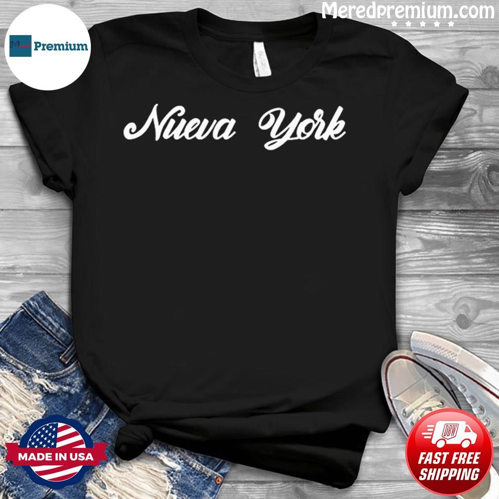 Funny Nueva York New York Retro Style Vintage Spanish Shirt