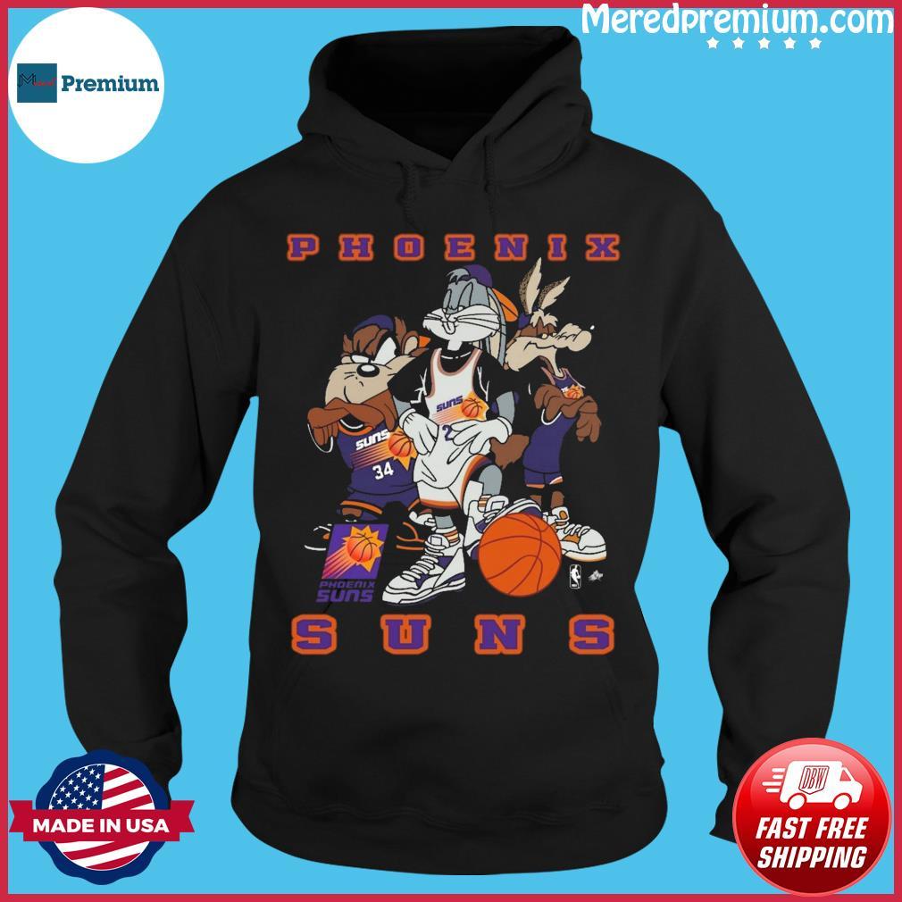 Looney Tunes Phoenix Suns Basketball Shirt Hoodie