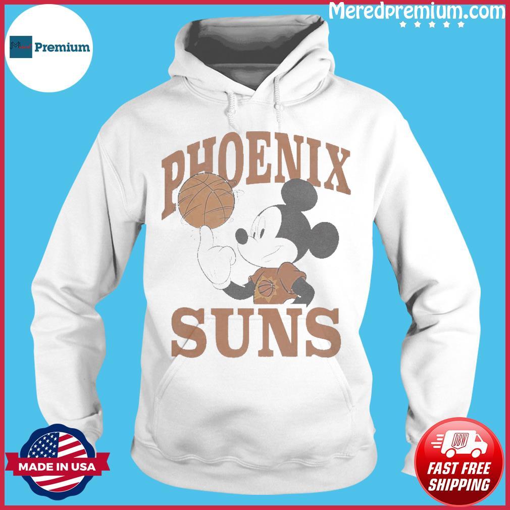 Official Disney Mickey Junk Food Phoenix Suns Shirt Hoodie