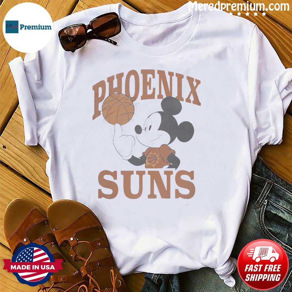Official Disney Mickey Junk Food Phoenix Suns Shirt