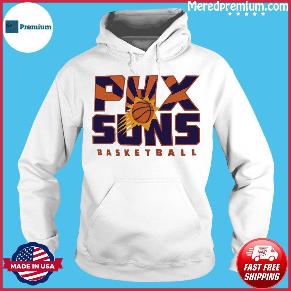 Official Phoenix Suns 2021 NBA Playoffs Basketball T-s Hoodie