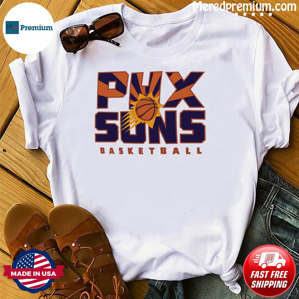 Official Phoenix Suns 2021 NBA Playoffs Basketball T-shirt