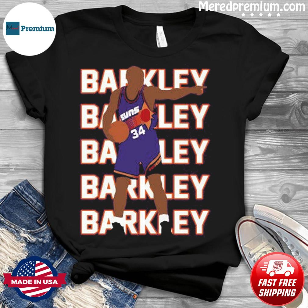 Official Phoenix Suns Charles Barkley Shirt