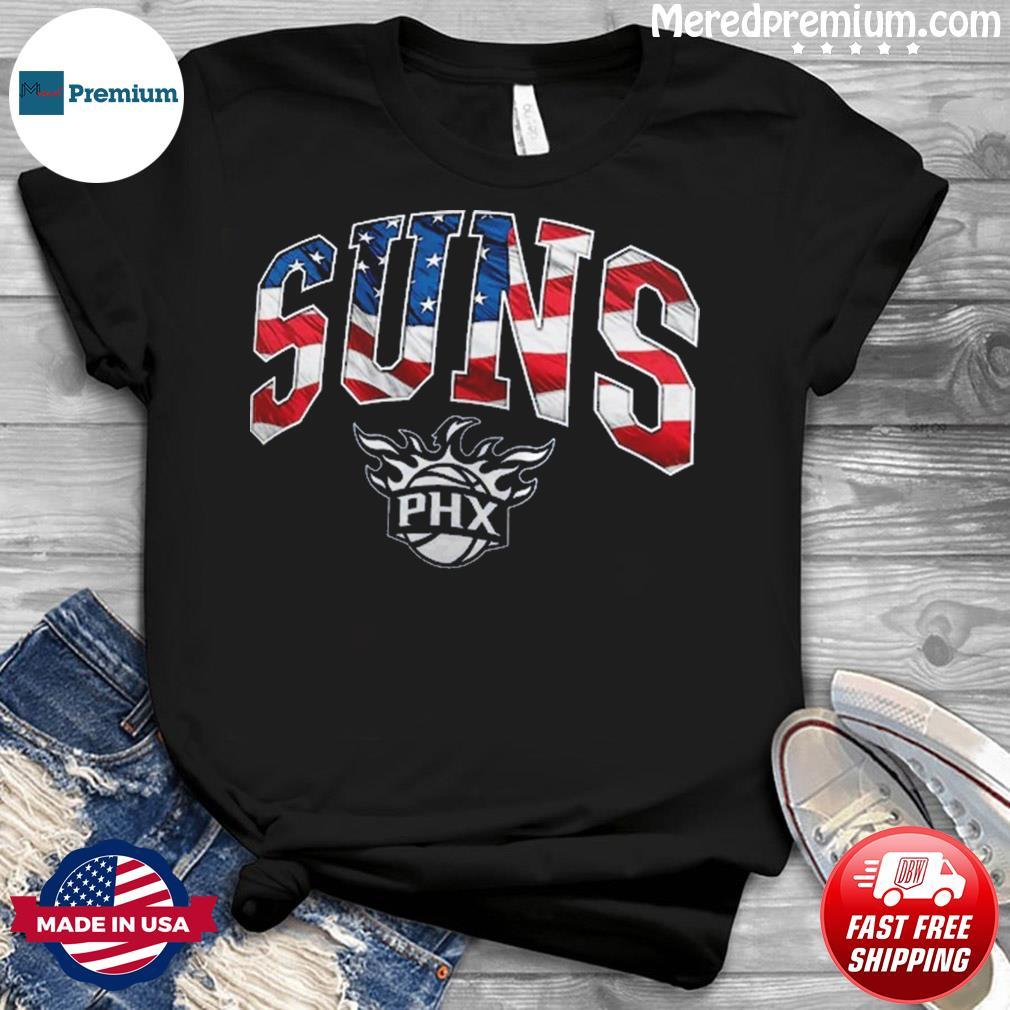 Official Phoenix Suns PHX American Flag Shirt