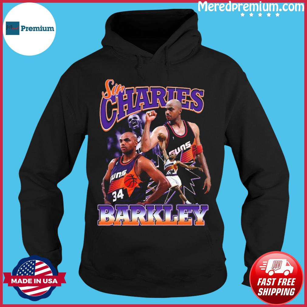 Official Sir Charles Barkley Phoenix Suns Basketball Shirt Hoodie