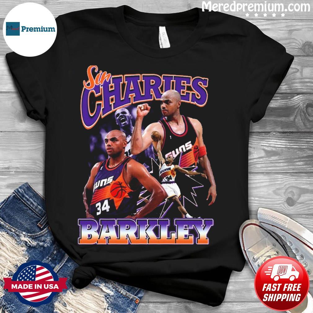 Official Sir Charles Barkley Phoenix Suns Basketball Shirt