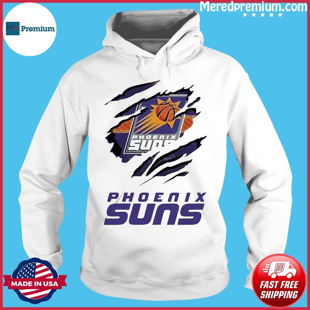 Phoenix Suns NBA Basketball Team T Shirt Hoodie