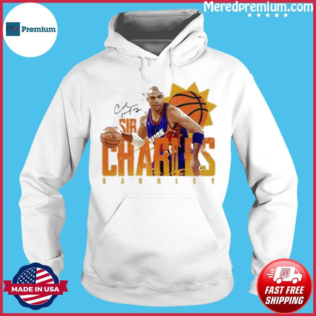 Phoenix Suns Sir Charles Barkley Signature Basketball s Hoodie