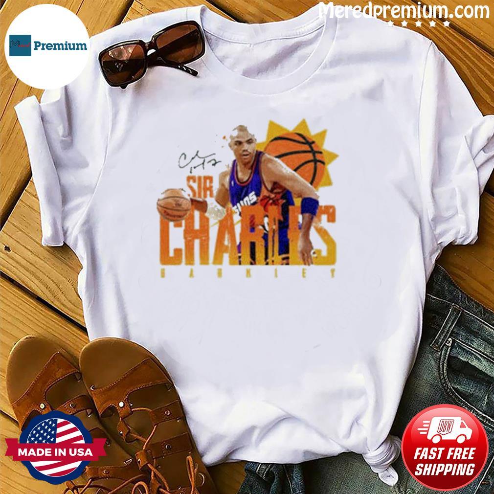 Phoenix Suns Sir Charles Barkley Signature Basketball shirt
