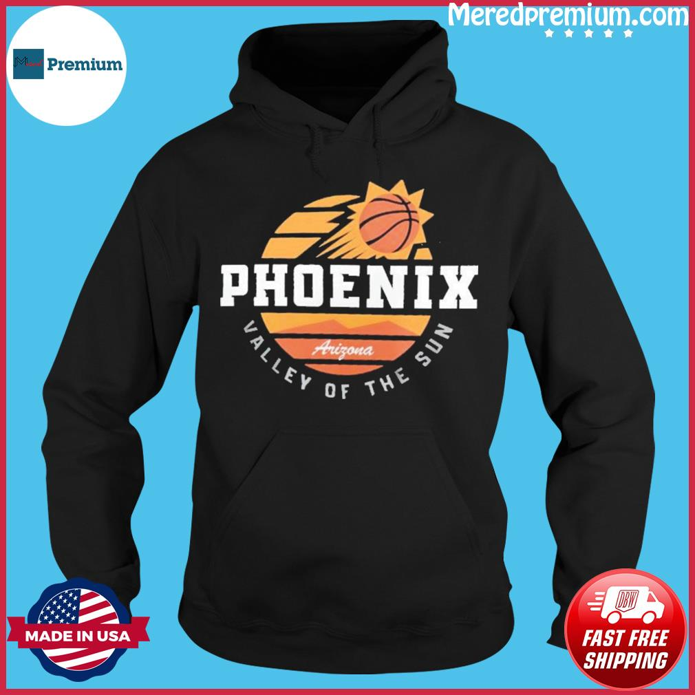 Phoenix Suns Valley Of The Sun Arizona Vintage Retro Shirt Hoodie
