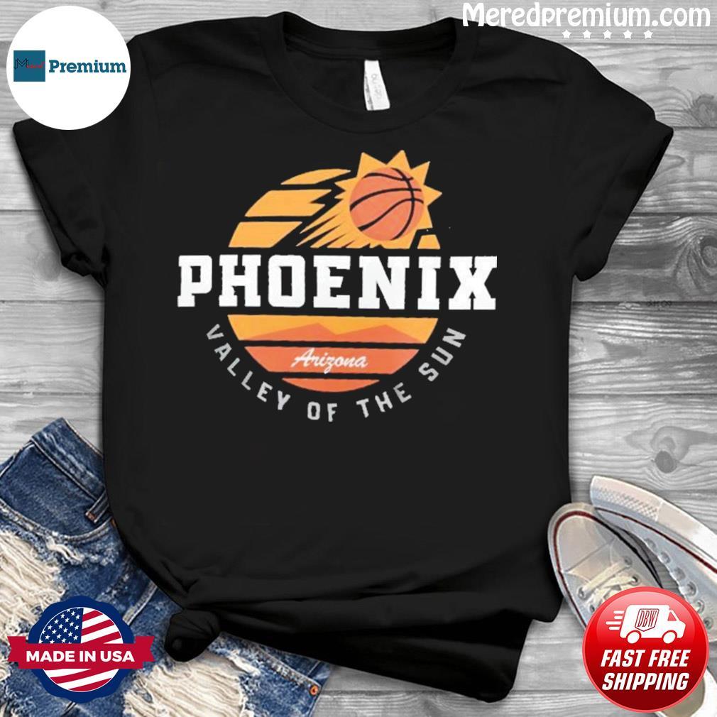 Phoenix Suns Valley Of The Sun Arizona Vintage Retro Shirt