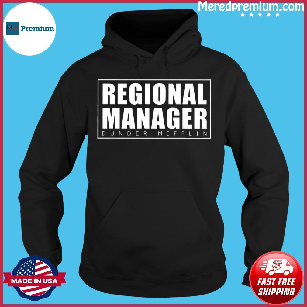 Regional Manager Dunder Mifflin Classic T-Shirt Hoodie