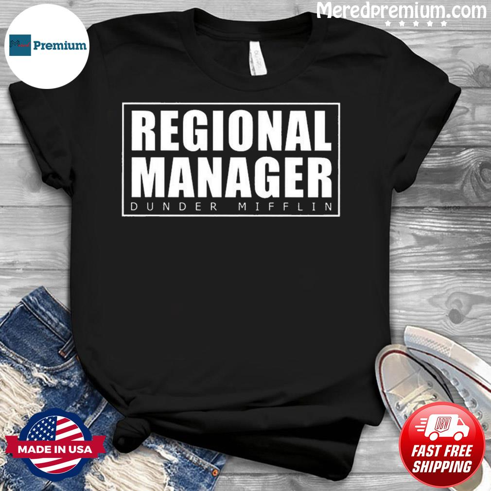 Regional Manager Dunder Mifflin Classic T-Shirt