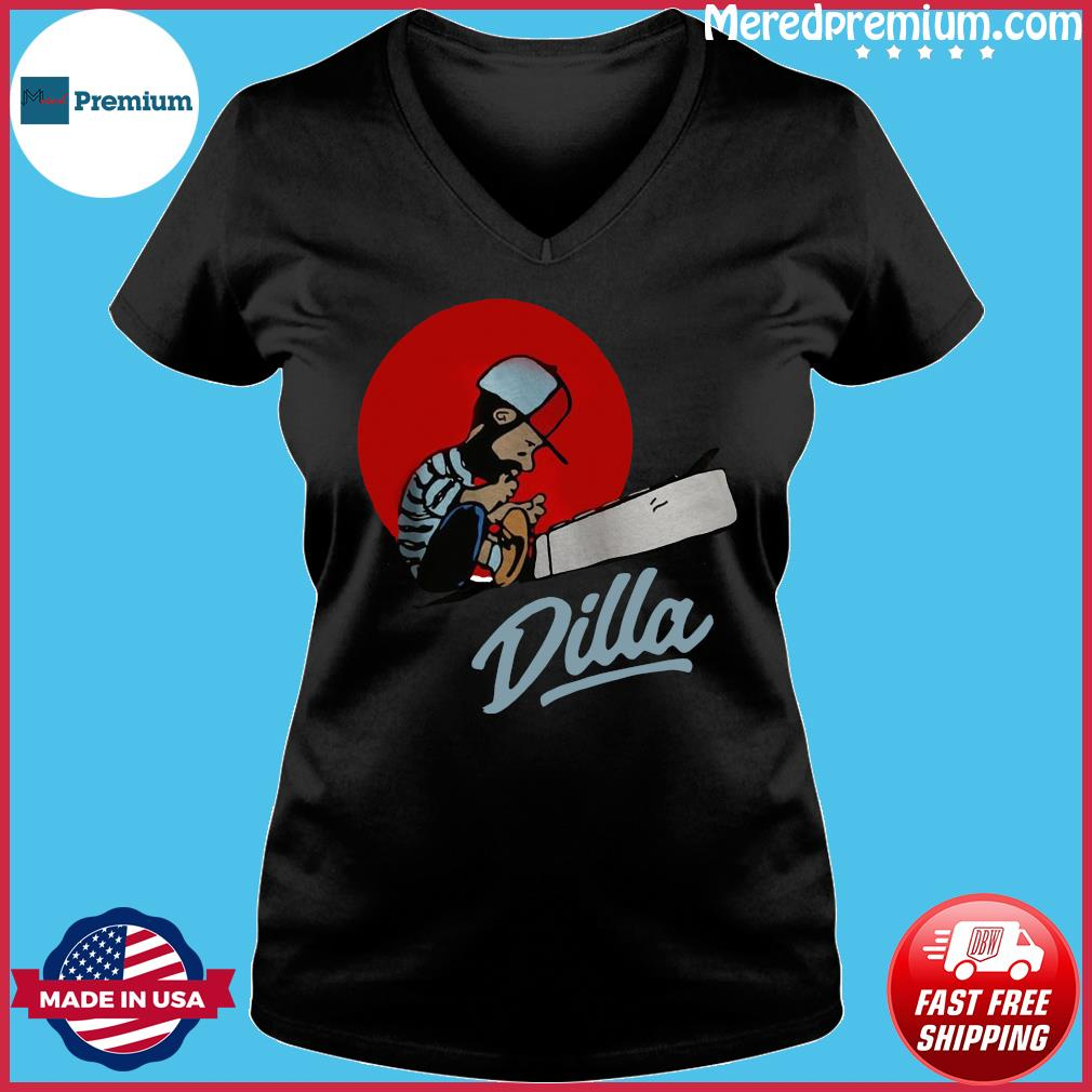 J Dilla Classic Shirt Ladies V-neck