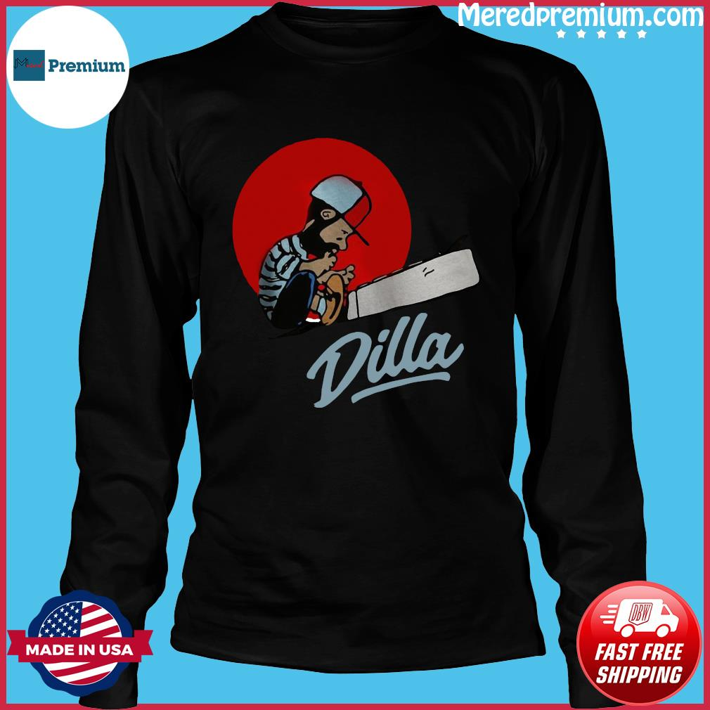 J Dilla Classic Shirt Long Sleeve