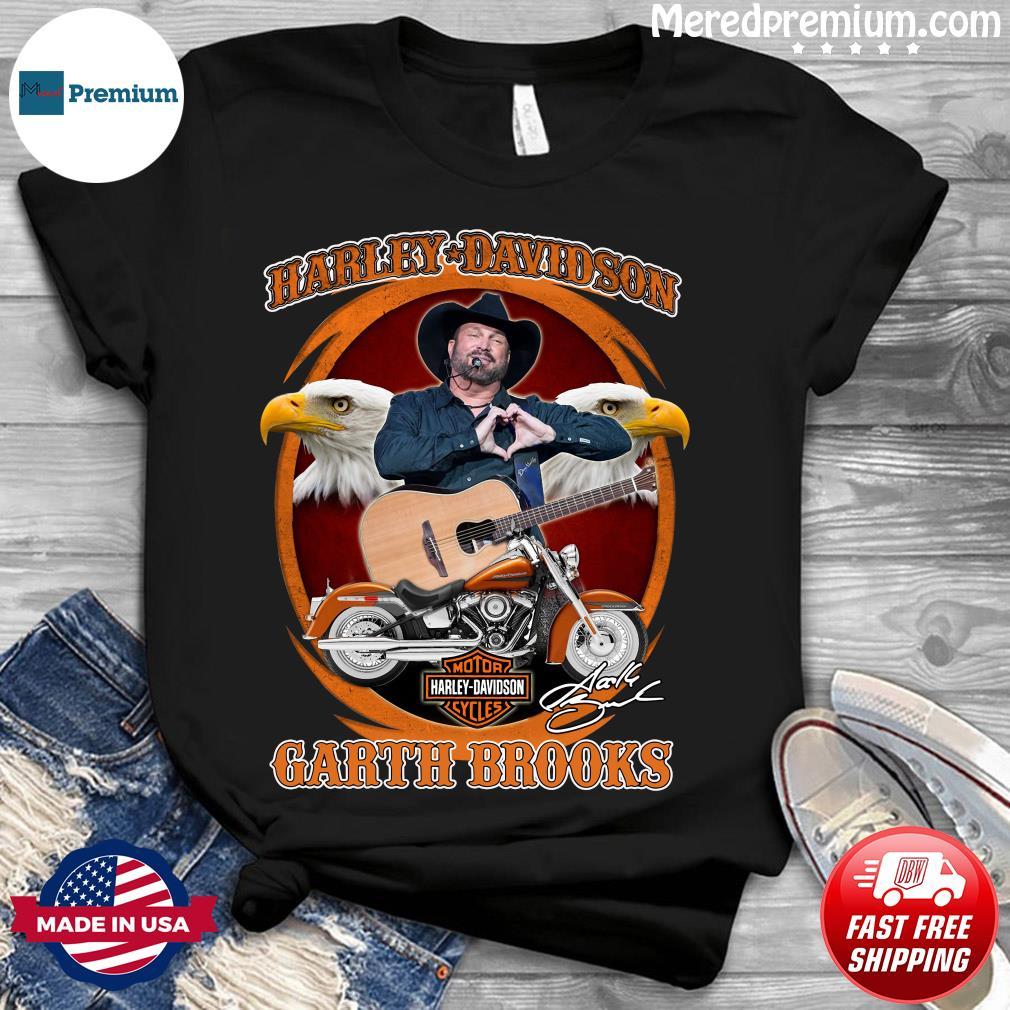Motor Harley Davidson Cycles Garth Brooks Signature Shirt