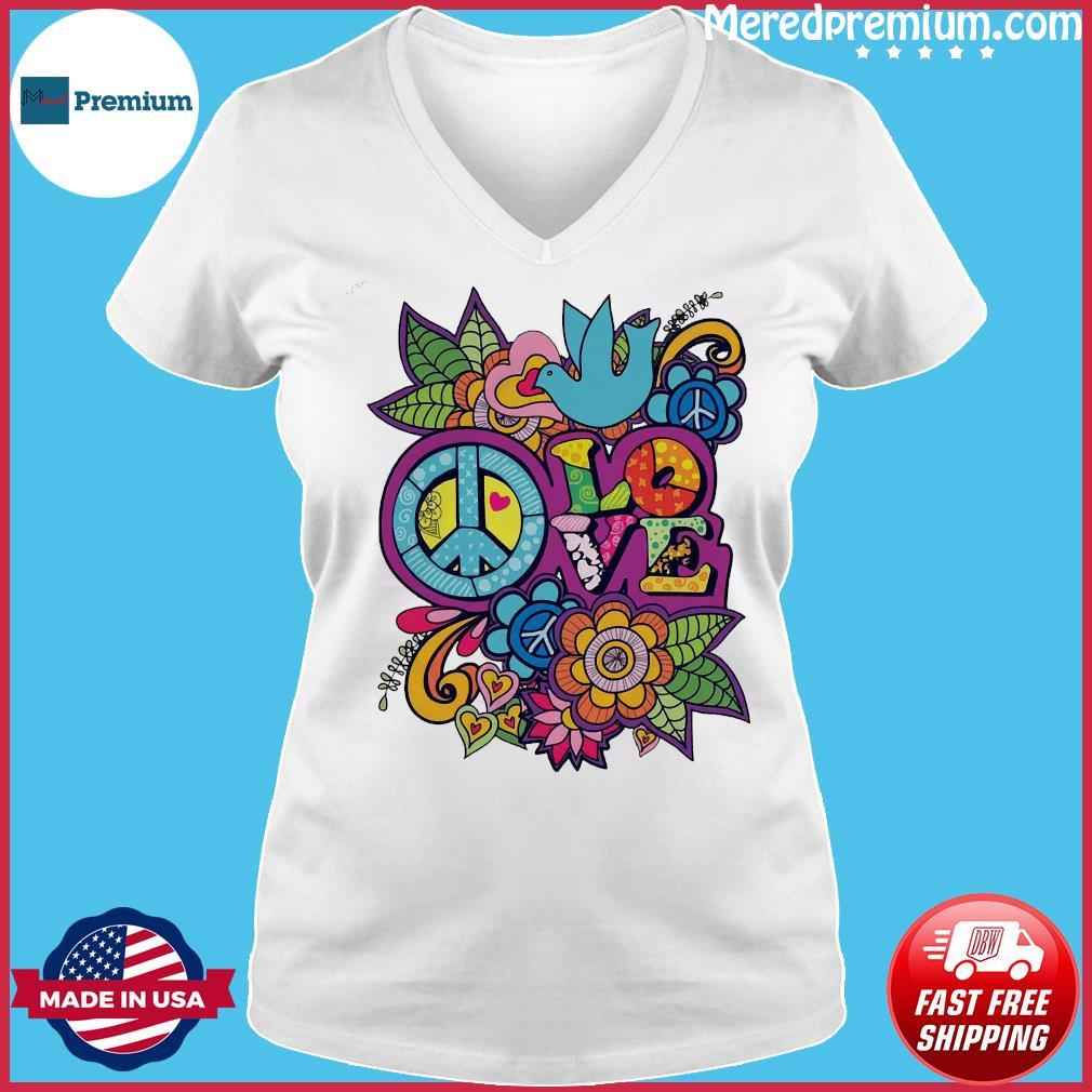 Love Shirt Ladies V-neck